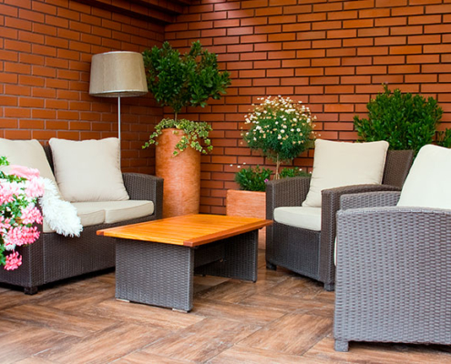 Vivienda con zona chill out en Madrid